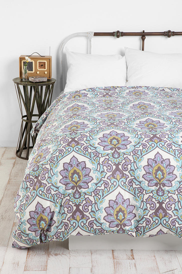 Urban Outfitters Floral Medallion Duvet From Urban
