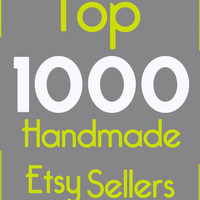 Top 1000 Handmade Etsy Sellers of 2011