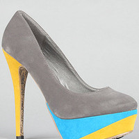 The Kylie Shoe in Gray SAVE 20% with rep code MSCURF