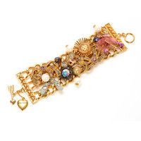 BALLERINA WIDE TOGGLE BRACELET - Betsey Johnson