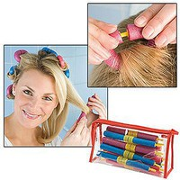 Bendy Curls Beauty Salon Hair Styling Products (Set of 20) - with Storage Bag