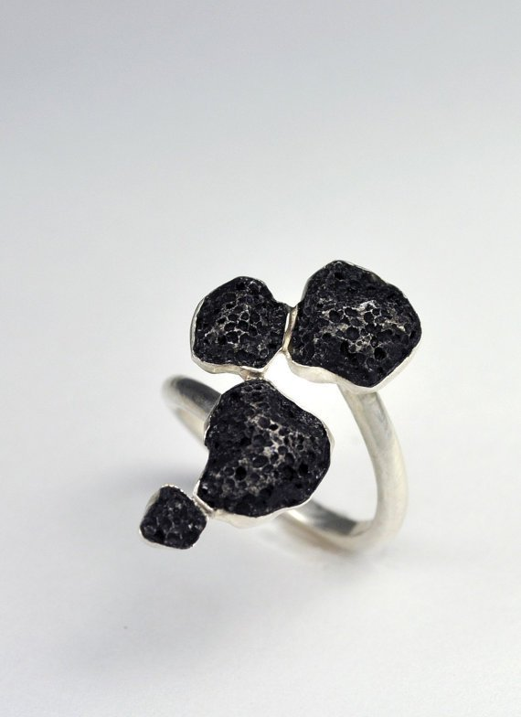 Marrow Bezel Ring by CarrieBilbo on Etsy