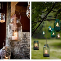  Mason Jar Lanterns