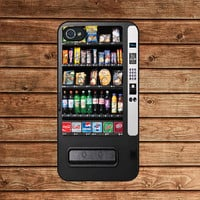iphone 4 case,iphone 4s case,iphone 4 cover--Vending Machine,in plastic or silicone case