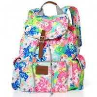 Victoria Secret PINK Floral Backpack
