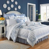Laura Ashley Sophia Bedding By Laura Ashley, Comforters, Comforter Sets, Duvets, Bedspread, Quilts, Sheets & Pillows: The Home Decorating Company
