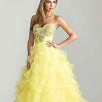 2013 New Beaded Strapless Sweetheart Prom Dress Ball Gown Party Evening Dresses