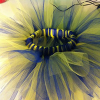 Infant tutu LSU purple and gold by kissedwithcreativity on Etsy