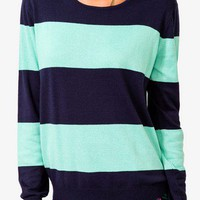Striped Relaxed Fit Sweater
