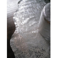 Glitz Silver Cowhide|Rugs  Hides|Ben Linen  Rugs|French Bedroom Company