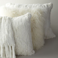 Fur Pillows and Throw - Horchow