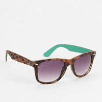 Urban Outfitters - Colorblock Pop Risky Sunglasses