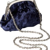 Old Navy Velvet Shoulder Purse