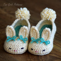 Toddler Crochet Pattern for Tot Hops Bunny by TwoGirlsPatterns