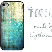 iphone case - Ocean Shimmer - iPhone 5 case. Summer is gone - Water - Shimmer- sparkle - iPhone Photography. beach iphone case