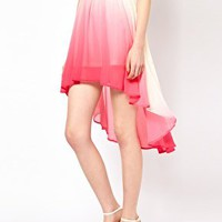 Goldie Pink Dip Dyed Skirt