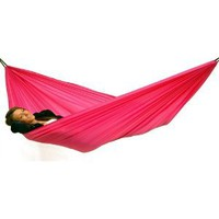 Amazon.com: Byer of Maine Paracute Traveller Lite Hammock (Pink): Sports & Outdoors