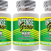 Long Hair Growth Vitamins - Intense Grow 3-Pack