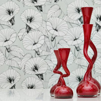 Swing Vase by Normann Copenhagen ? modern red vase 3 sizes