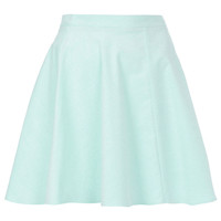 Mint Baby Cord Skater Skirt - Skirts - Clothing - Topshop