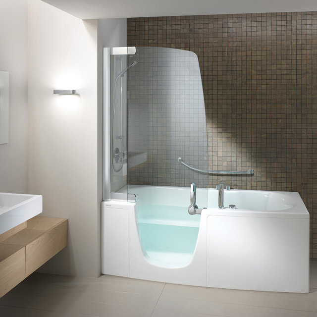 Teuco 385 fy o c disabled walk in modern from shop - Modern bath and shower combo ...