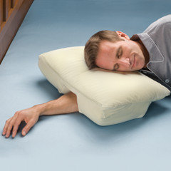 The Arm Sleeper's Pillow - Hammacher Schlemmer