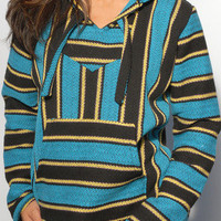 Baja Hoodies - Baja Sweatshirt | Turquoise - The World&#x27;s Greatest Baja Hoodie Selection | Seor Lopez Poncho | BajaHoodiez.com