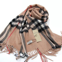 Burberry Scarf from Patsy's Pink Sparkle