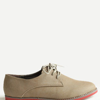 Side Streets Oxfords - $38.00 : ThreadSence, Women&#x27;s Indie &amp; Bohemian Clothing, Dresses, &amp; Accessories