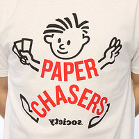 Society Original Products The Paper Boy Tee in White