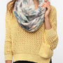 Ecote Mirror-Print Eternity Scarf