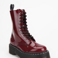 Agyness Deyn For Dr. Martens Aggy 1490 10-Eye Flatform Boot