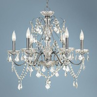 Vienna Full Spectrum Chrome and Crystal Chandelier - #92905 | LampsPlus.com