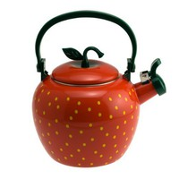 Strawberry Whisliting Tea Kettle