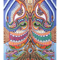 Yes Yes Yes No No No Psychedelic Trippy Tapestry 60x90 - Artwork By Chris Dyer