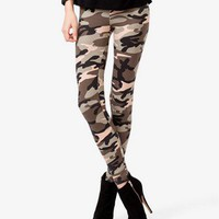 Camouflage Leggings | FOREVER 21 - 2028444106