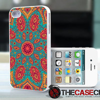 Native American Tribal Design Pattern 57 - iPhone 4 or iPhone 4s case, cover