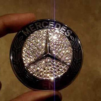 Custom Swarovski Mercedes Benz Replacement Logo/Badge