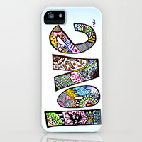 love is all you need. (color) iPhone Case by Starr Shaver | Society6