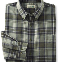 Kingfield Flannel Shirt: Flannel, Chamois and Lined | Free Shipping at L.L.Bean