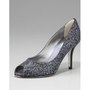 Rene Caovilla Crystal-Embellished Pump