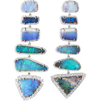 Irene Neuwirth Diamond Collection Boulder Opal & Diamond Earrings | Barneys New York