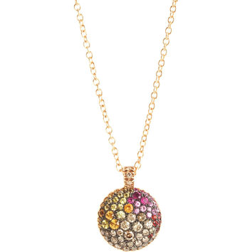 Marroni Multi-Sapphire Pendant Necklace | Barneys New York