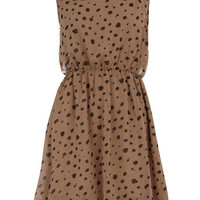 Coffee spot and bead dress - View All Sale - Sale & Offers - Dorothy Perkins