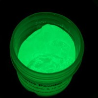 Luminescence Green Glow In The Dark Pigment