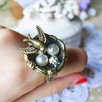 Natural Utopia Ring - Accessory - Retro, Indie and Unique Fashion