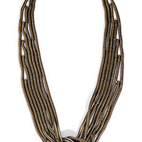 STYLEBOP.com | TheKnoxbrassnecklacebyDANNIJO | the latest trends from the fashion capitals of the world