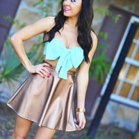 Far From Your Classic Bandeau: Mint | Hope's
