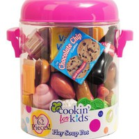 Cookin' For Kids Play Soup Pot Food Set