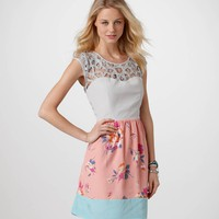 AE Lace and Floral Dress | American Eagle Outfitters